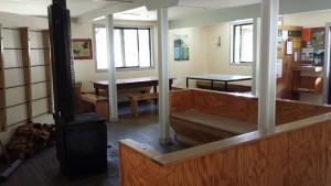 Mackenzie hut inside