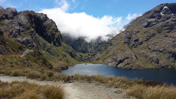Lake Harris on the Routeburn Track