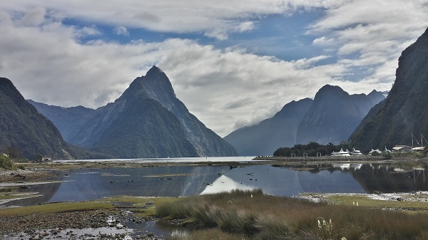 Mitre Peak, Milford Sound at the end of the Milford Track